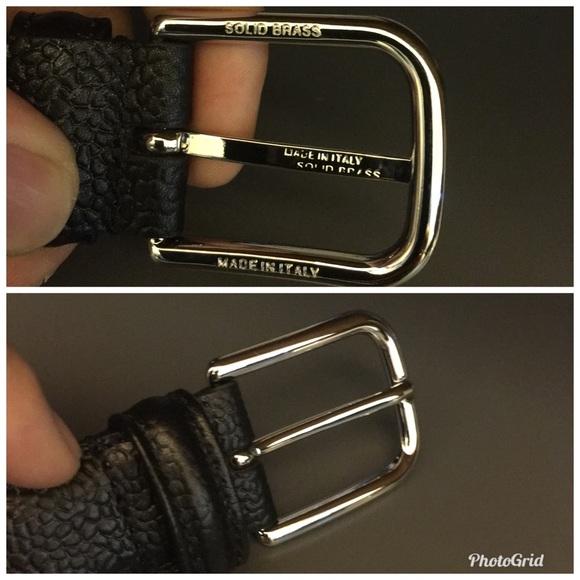 24fc38b04d5cc Barneys New York Genuine leather Belt